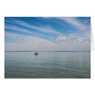 Cartão Serenidade fora da ilha de Fraser