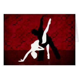 Cartão Série 1 do tango