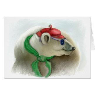 """Cartão Série dos animais felizes """"8"""""""