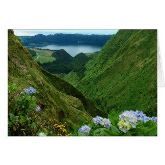 Cartão Sete Cidades, Açores