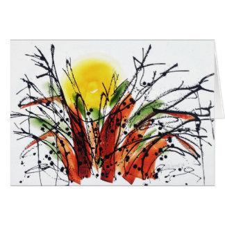 Cartão Settin na árvore Notecard do Baobab do th