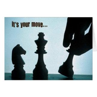 Cartão Seu movimento