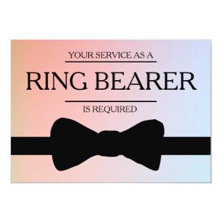Cartão Seu serviço é pedido como o melhor padrinho de