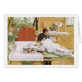 Cartão Sewing de Karin