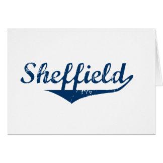 Cartão Sheffield