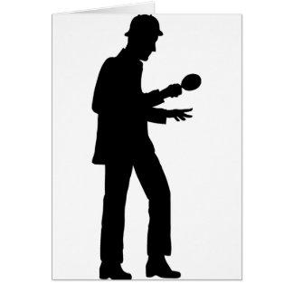 Cartão Sherlock Holmes