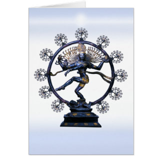 Cartão Shiva Nataraja, um fractal fabuloso