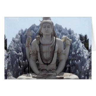 Cartão SHIVA - Senhor Himalaia da PAZ