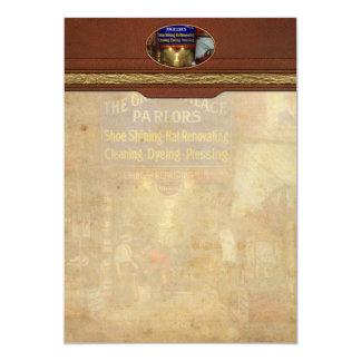 Cartão Shoeshine - as salas de estar grandes 1922 do