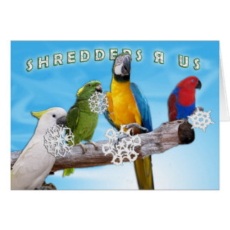Cartão Shredders R nós