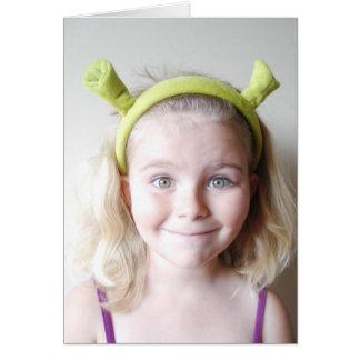 Cartão Shrek