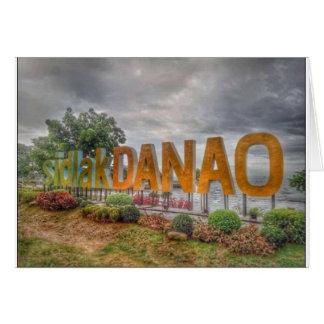 Cartão Siglakdanao na cidade do danao