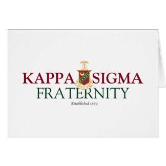 Cartão Sigma do Kappa