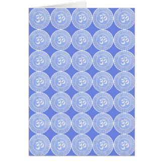 Cartão Símbolo da mantra de OM: OMMANTRA