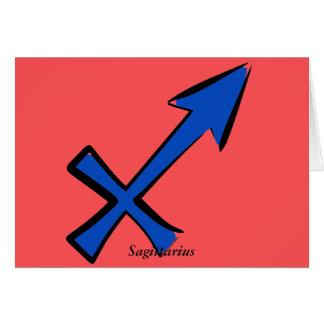 Cartão Símbolo do Sagitário