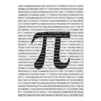 Cartão Símbolo matemático do dia preto original do pi do