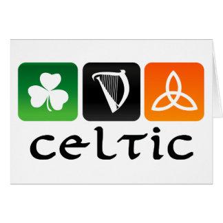 Cartão Símbolos celtas