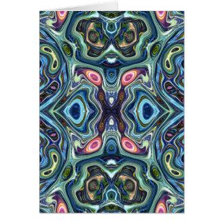 Cartão Simetria das cores