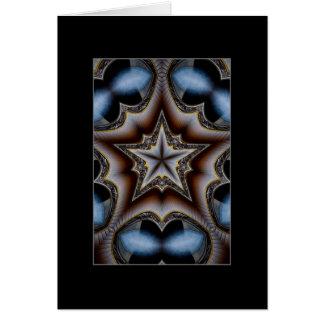Cartão Simetria Pentatonic