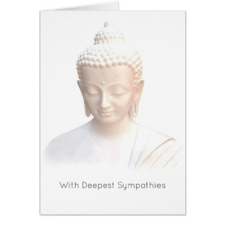 Cartão Simpatia - calma meditativo sereno branca de