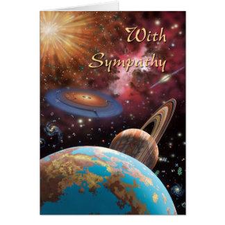 Cartão Simpatia: Cosmos
