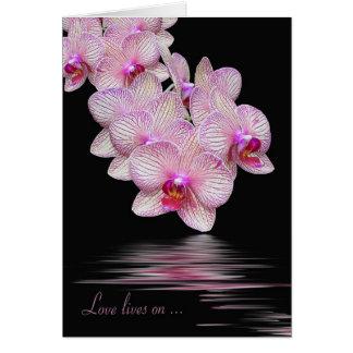 Cartão Simpatia da orquídea