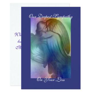 Cartão Simpatia do anjo do arco-íris