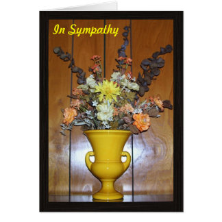 Cartão Simpatia floral