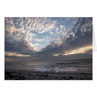 """Cartão Simpatias """"coração nas nuvens """""""