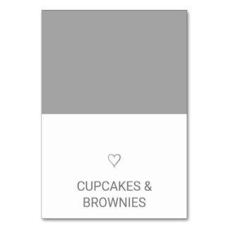 Cartão simples da barraca da comida do coração da
