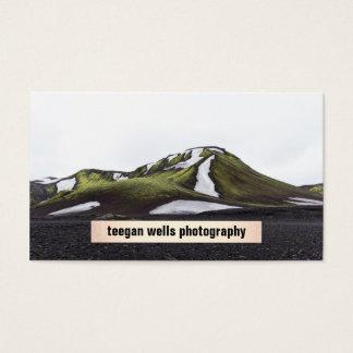 Cartão simples da fotografia da chapa do fotógrafo
