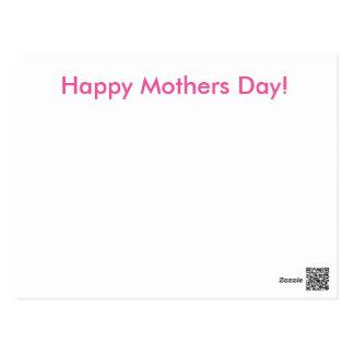 Cartão simples do dia das mães! cartão postal