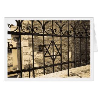 Cartão Sinagoga em Kazimierz