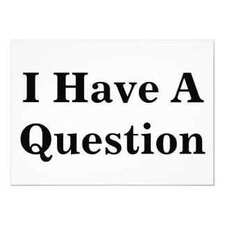 Cartão Sinal da pergunta