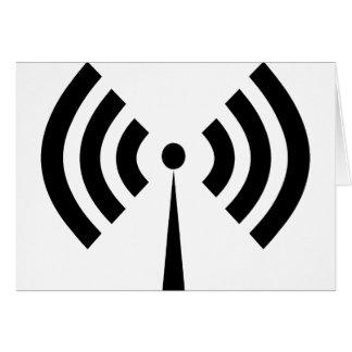Cartão Sinal de Wifi