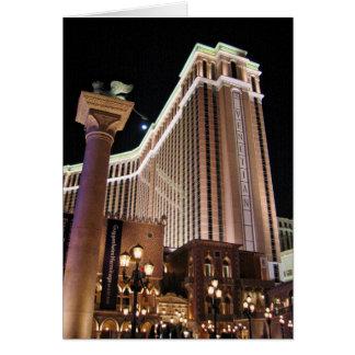 Cartão Sinal Venetian Las Vegas
