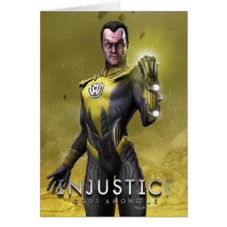 Cartão Sinestro