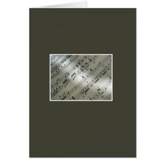 Cartão Sinfonia da paixão