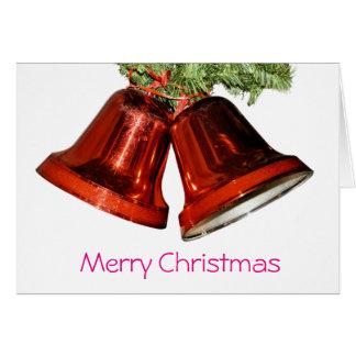 Cartão Sinos do Feliz Natal