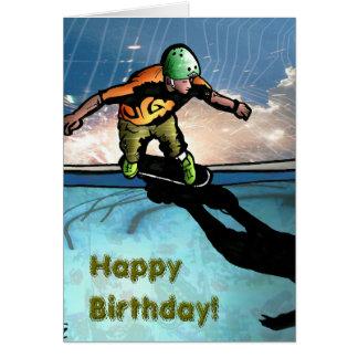 Cartão Sk8thony-jgad, HappyBirthday! , HappyBirthday!
