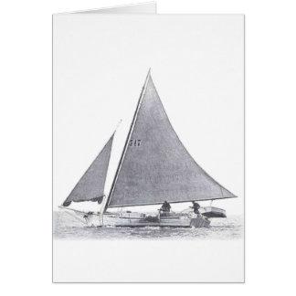 Cartão Skipjack da baía de Chesapeake