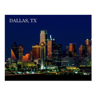 Cartão skyline da Dallas, Texas