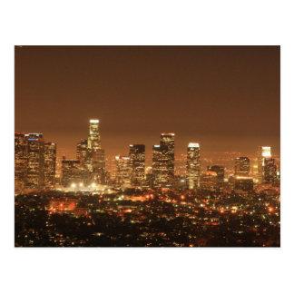 Cartão - skyline de Los Angeles