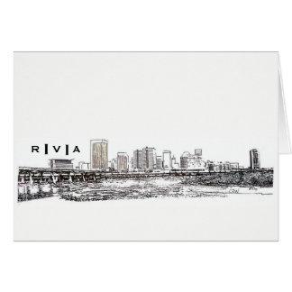 Cartão Skyline de RVA