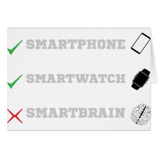 Cartão Smartbrain?