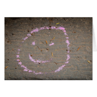 Cartão Smiley face Notecard