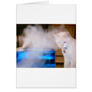 "Cartão ""Snowball na névoa """