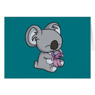 Cartão Snuggles doces! Koala