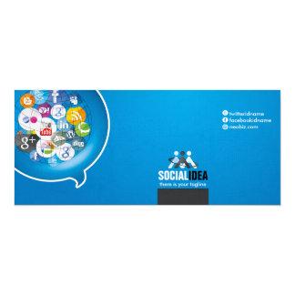 Cartão SOCIAL MEDIA Compliment Large Greeting Cards