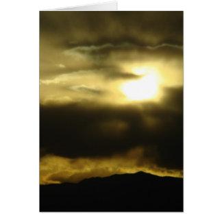 Cartão Sol de ajuste